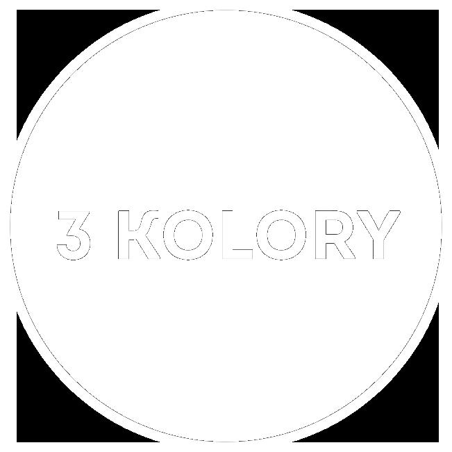 Logo 3 Kolory białe